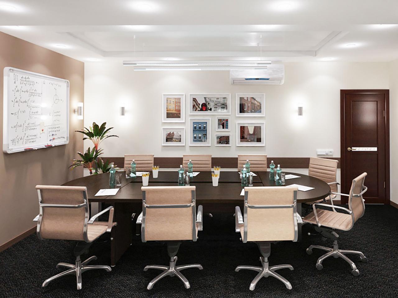 Дизайн интерьера комнаты переговоров ООО Локальные системы