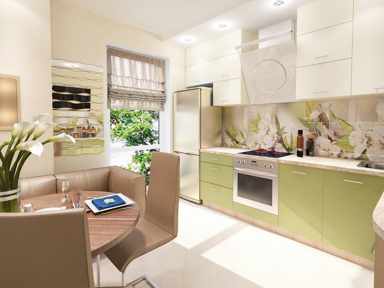 Дизайн интерьера однокомнатной квартиры в ЖК Альбатрос на ул. Левкова, 30