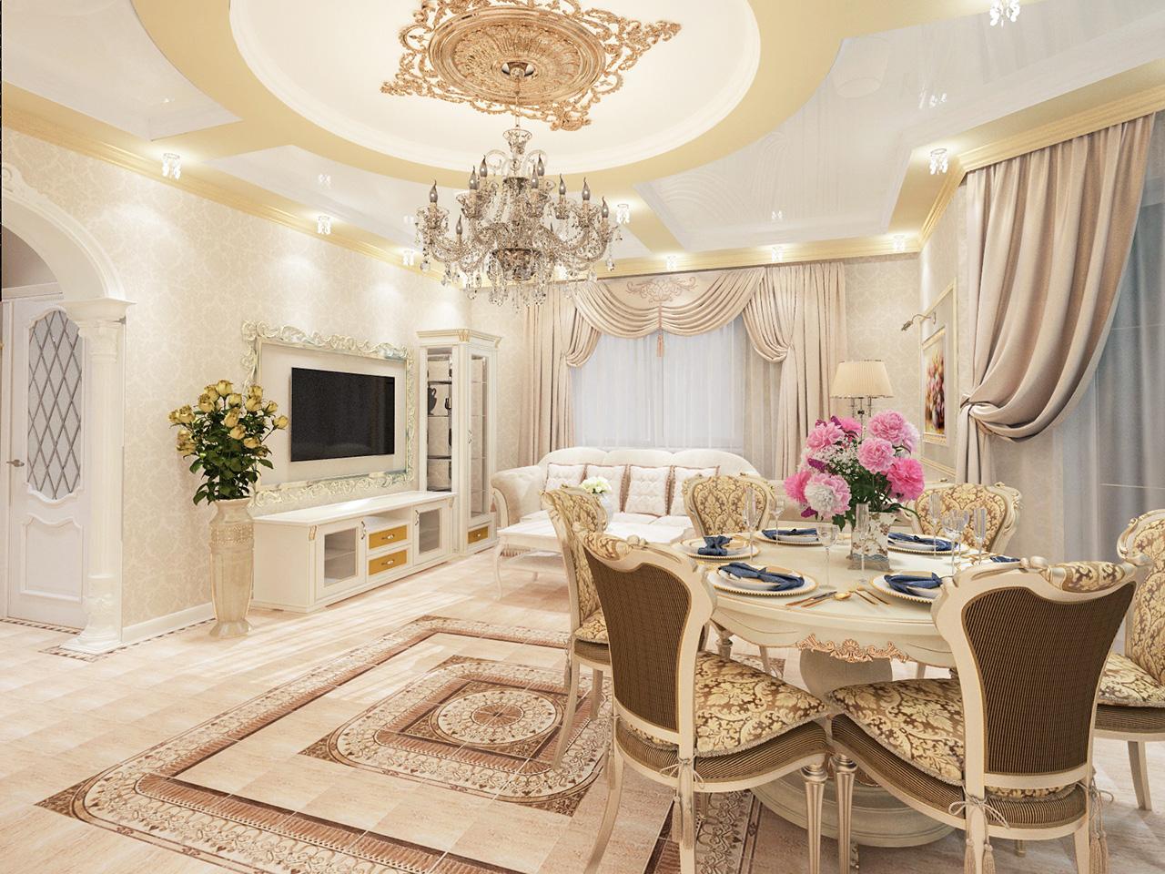 Дизайн интерьера дома в г. Островец Гродненской области