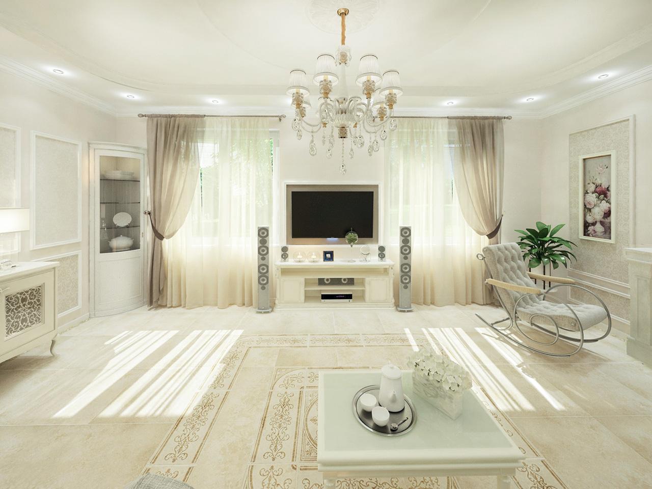 Дизайн интерьера частного дома на ул. Ангарской, г. Минск