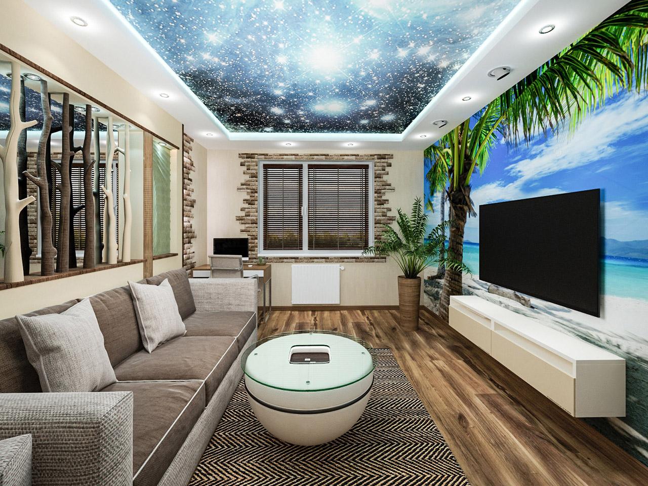 Дизайн интерьера 2-х комнатной квартиры в Новой Боровой