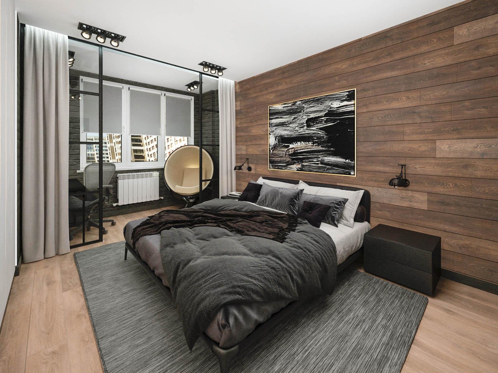 Дизайн интерьера 2-х комнатной квартиры на ул. Мстиславца, 8